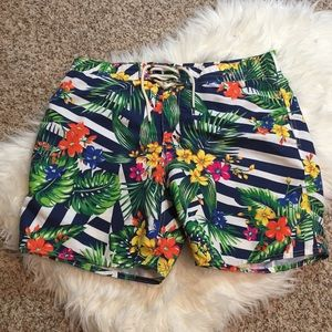 Men's Ralph Lauren Polo Floral Shorts, Size 38